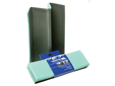 Trespass Folda - Foldbar hynde - Grøn/grå - 30 x 26 x 1 cm.