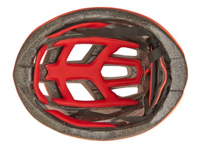 Trespass Zprokit - Cykelhjelm - Neon rød