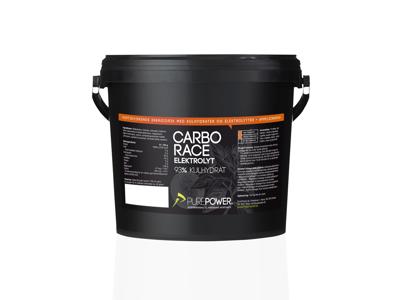 PurePower - Carbo Race Elektrolyt - Energidryck - Apelsin 3 kg