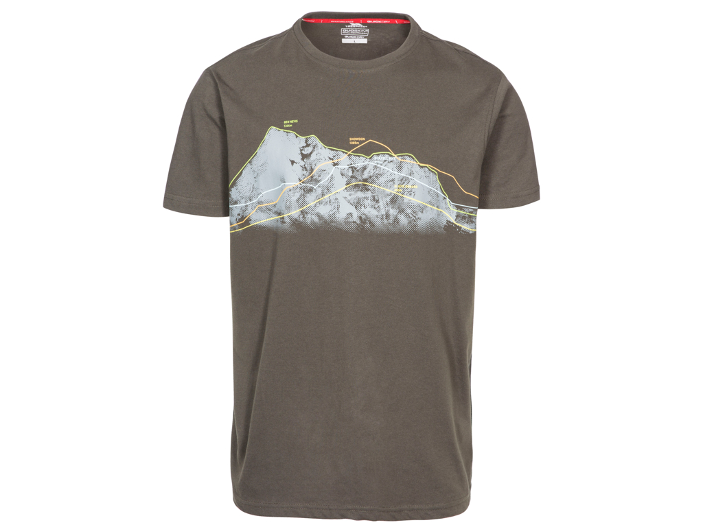 Trespass Cashing - T-Shirt quick dry - Str. M - Khaki thumbnail
