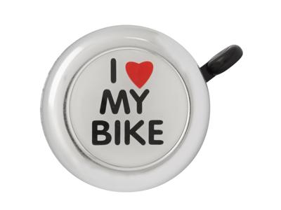 Atredo - Ringeklokke - I love my bike - Blank