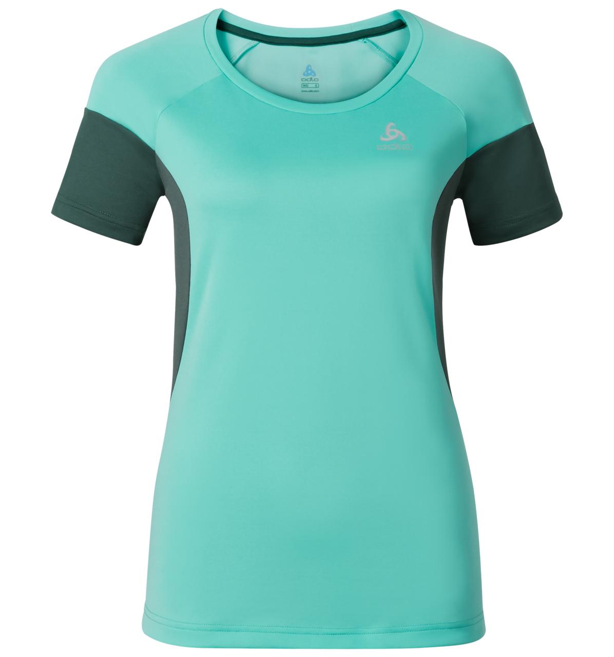 Odlo dame T-shirt - Versilia - mintgrøn | Jerseys
