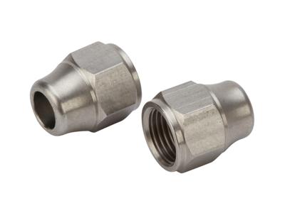 Atredo - Hydraulisk kabelende - Rustfri stål - Til Shimano/Formula  - 2 stk.