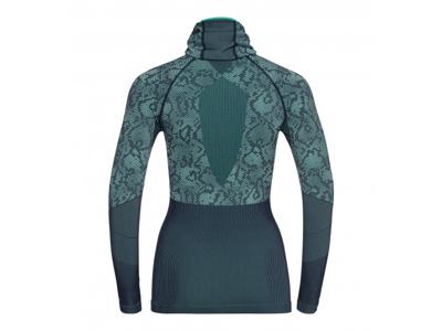 Odlo - Blackcomb Evolution Warm Shirt/Facemask - Dame - Mint