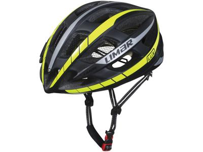 Limar Lux - Cykelhjelm - Matsort/neon