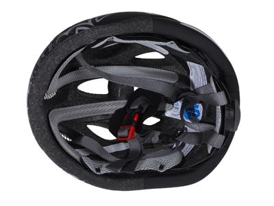 Cykelhjelm Abus Lane-U mat sort/grå