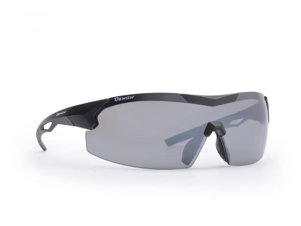 Image of   Demon Visual DCHANGE - Løbe- og cykelbrille med 3 sæt linser - Matsort