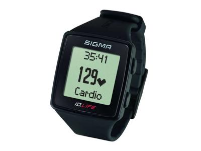 Sigma iD.LIFE - Pulsur / Aktivitets tracker - 16 funktioner - Sort