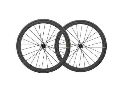 Mavic Ksyrium Pro Carbon UST Disc - Hjulsæt inkl. dæk - Sort - Sram/Shimano - 700x28c