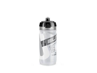 Elite Corsa - Drikkeflaske 550ml  - 100% Biologisk nedbrydelig - Klar/Sølv