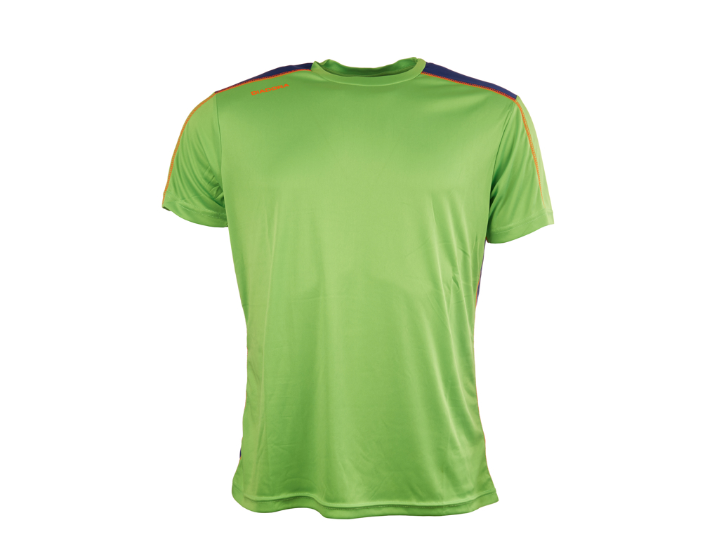 Image of   Diadora løbe t-shirt - Herre - Neongrøn/blå - Str. XL