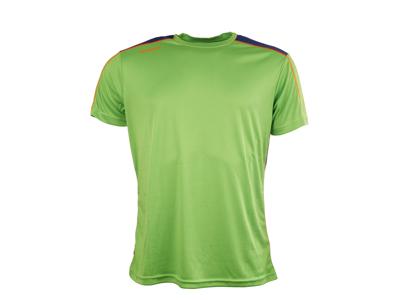 Diadora t-shirt löpning - Herr - Neongrön/blå