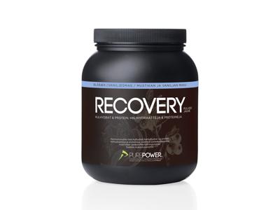 PurePower Recovery - Restitutionsdrik - Vanilje / blåbær - 1,6 kg