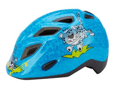 Met Genio/Elfo blå gepard cykelhjelm