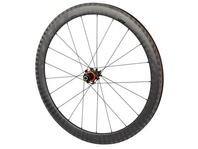 Atredo - Superlight carbon - Hjulsæt - 700C - Road - 50 mm - Clincher - Sort