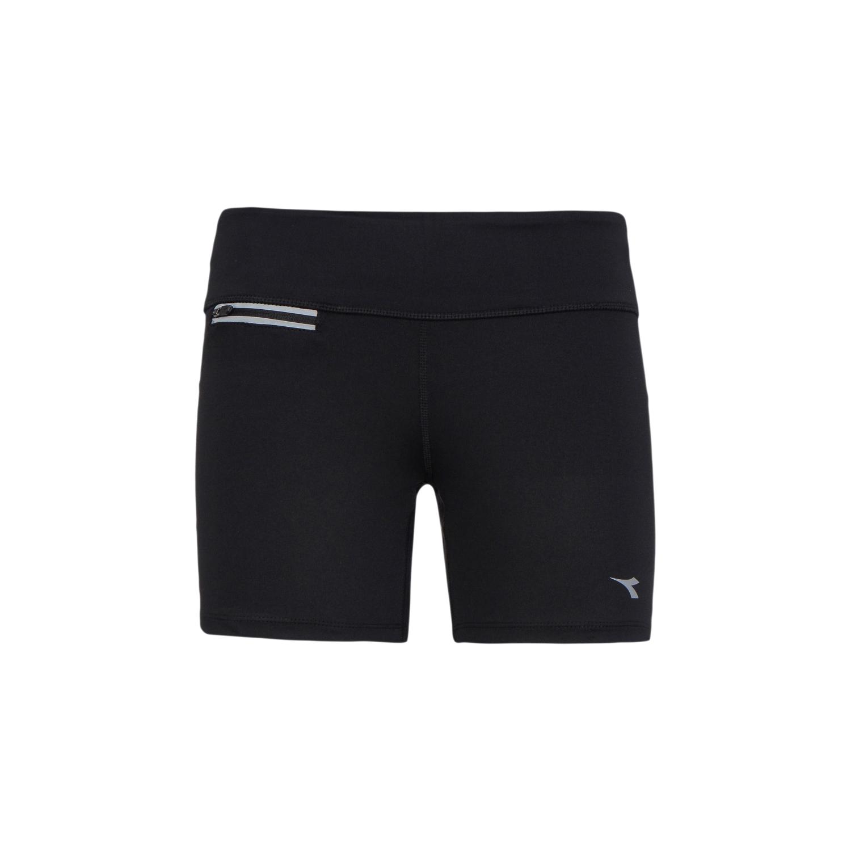 Diadora - L.STC Shorts - Korte løbetights - Dame - Sort   Bukser