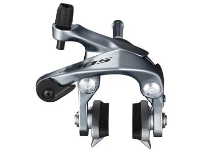 Shimano 105 - Bremseklo sølv BR-R7000 - til baghjul - Centerbolt