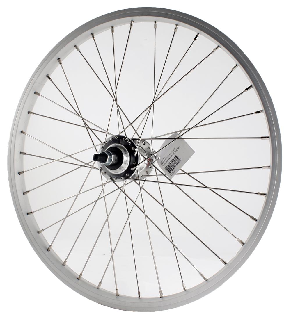 Baghjul 20 x 1,75 BMX Sølv | Rear wheel