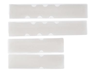 Atredo - Gel indlæg til styrbånd - Sæt med 4 pads - Transparent