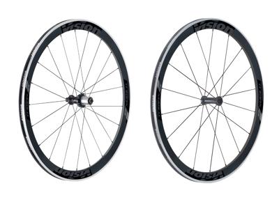 Vision Trimax Carbon 45 - Hjulsæt - 700c - Clincher - Carbon/Alu