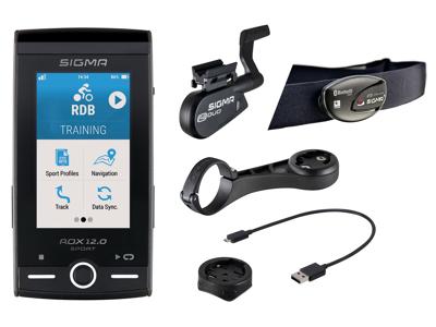Sigma ROX 12.0 Sport Bundle - Cykelcomputer med GPS - Grå