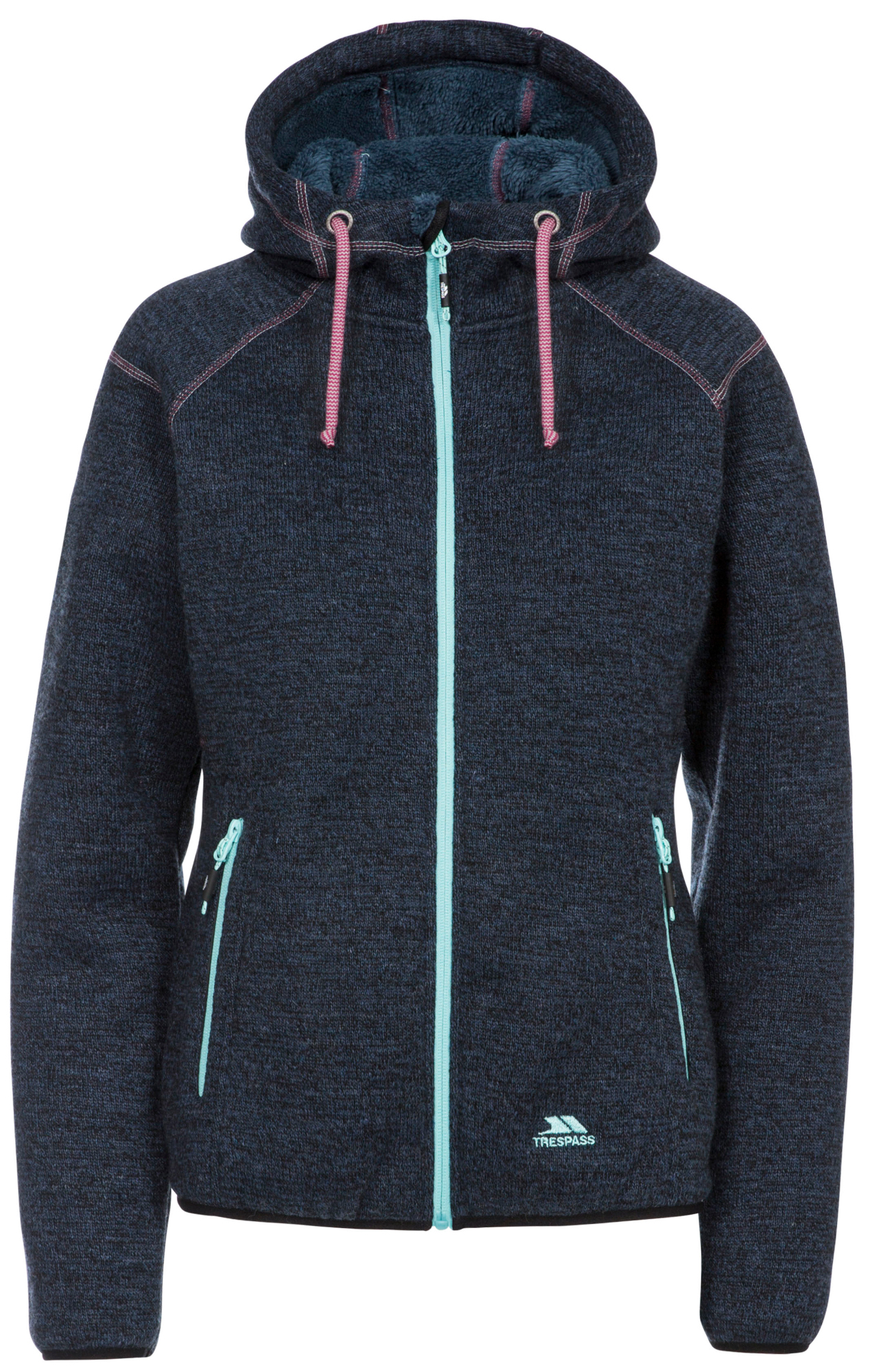 Trespass Albatross - Fleece jakke dame - Navy marl | Jackets