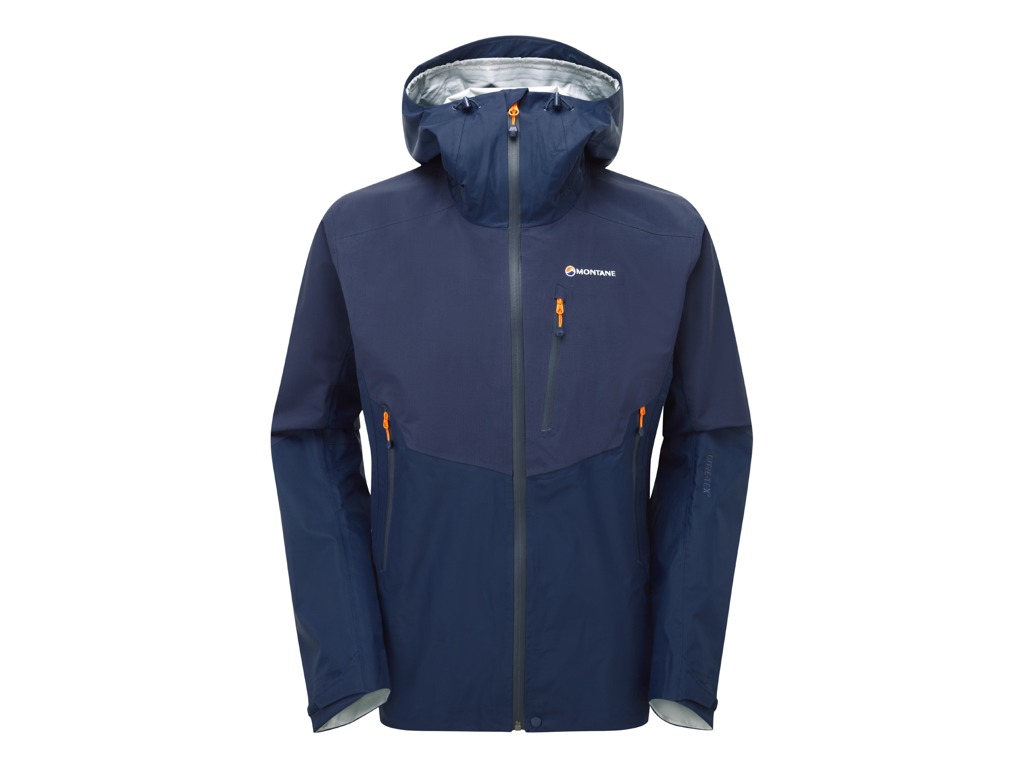 Image of   Montane Ajax Jacket - Skaljakke Mand - Blå - Medium