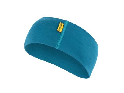 Sensor Merino Active Headband - Pannband Ull - Blå - OneSize