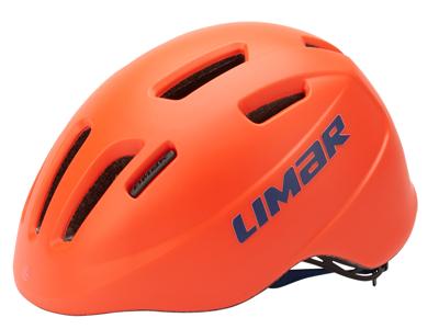 Limar 224 - Cykelhjelm til børn - Str. 46-52 cm - Matrød