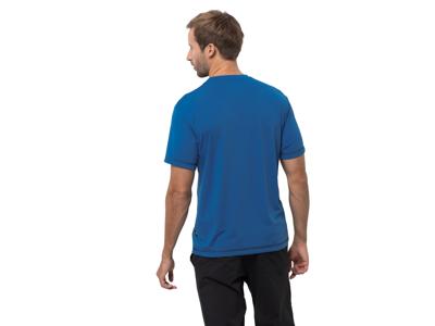Jack Wolfskin Crosstrail T - T-Shirt - Herre - Blå
