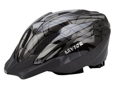 Levior cykelhjelm Flitzi Str. 52-57 cm - Antracit Sort