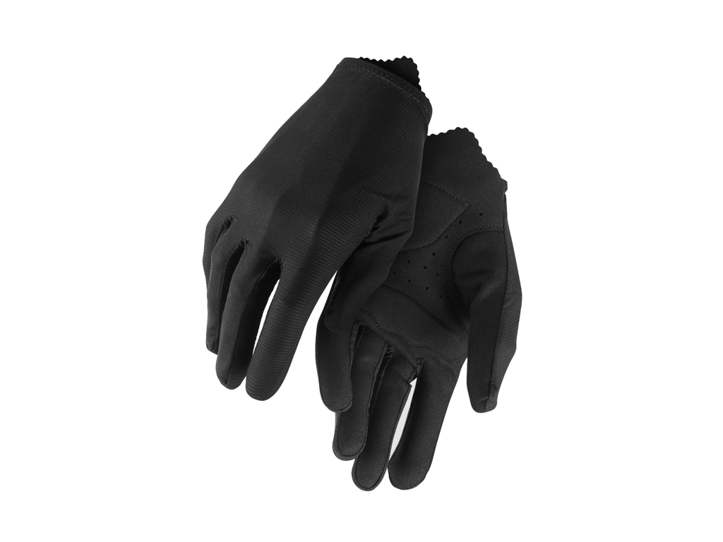 Image of   Assos RS Aero FF Gloves - Cykelhandske Lang - Sort - Str. L