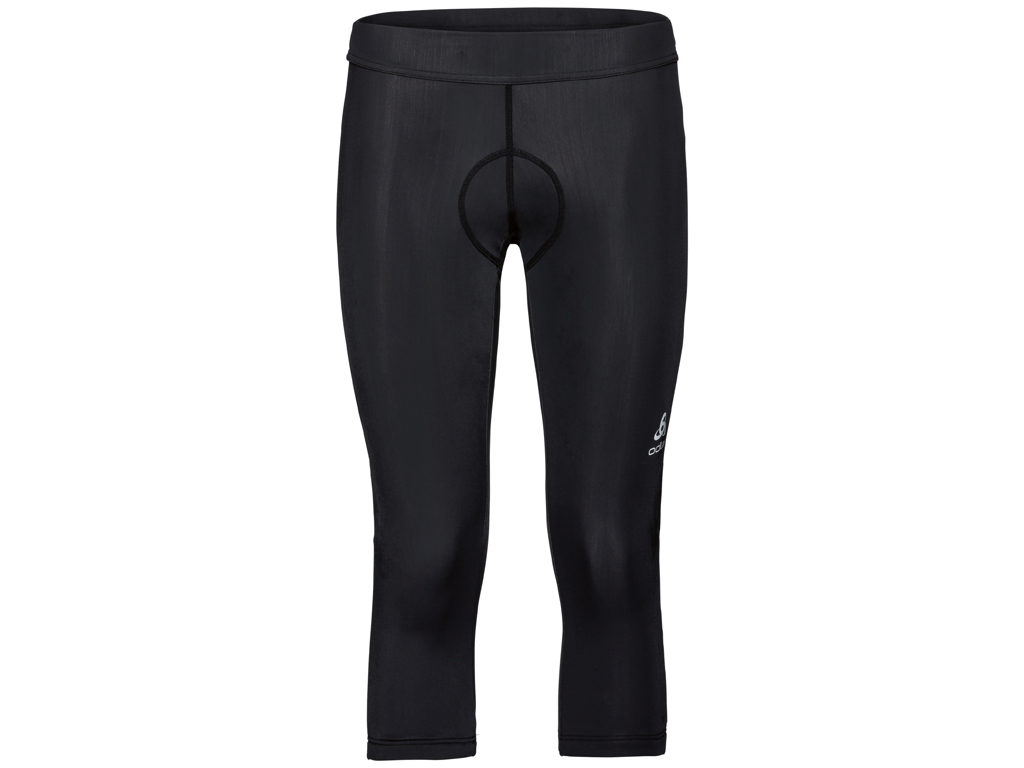 Image of   Odlo Element 3/4 - Cykelknickers med pude - Dame - Sort - Str. L