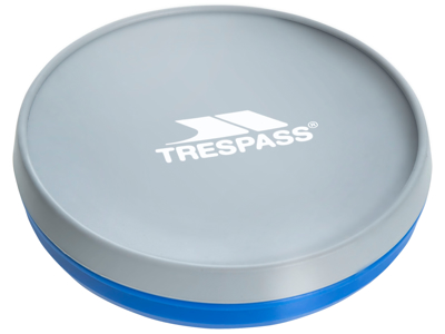 Trespass Miska 1000 - Silicone-skål - 1000 ml. 15,5 x 9cm - Blå