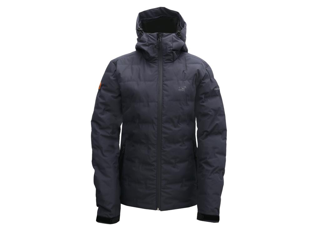 2117 Of Sweden Mon Eco Jacket - Vandtæt dunjakke - Dame - Mørk grå - Str. 40 thumbnail
