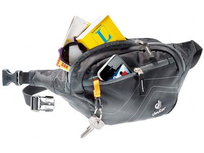 Deuter Belt 1 - Bæltetaske - 1,5 liter - Sort