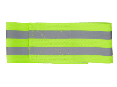 Atredo - Buksebånd med refleks - 2 refleksstriber - Gul