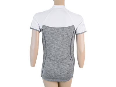 Sensor Motion FZ Jersey - Dame Cykeltrøje med korte ærmer - Grå/Hvid