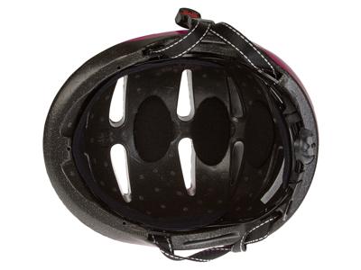Cykel- og skihjelm Mango Scatto Pink med motiv