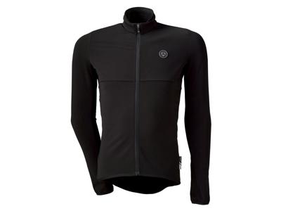 AGU Essential Thermo - Langærmet Cykeltrøje - Herre - Sort