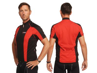 XTreme X-Jens - Cykeltrøje med korte ærmer - Rød/Sort