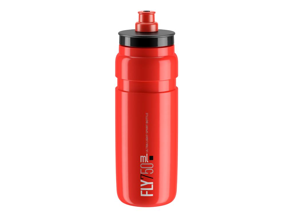 Image of   Elite Fly - Drikkedunk 750ml - 100% Biologisk nedbrydelig - Rød med sort logo