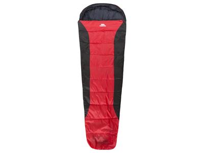 Trespass Siesta sovepose - 2 sæsoner - 230 x 85 x 55 cm - Rød