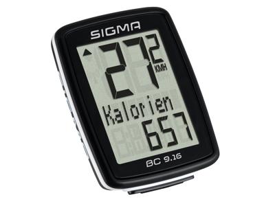 Sigma BC 9.16 - Cykelcomputer med ledning - 11 funktioner - Topline 2016