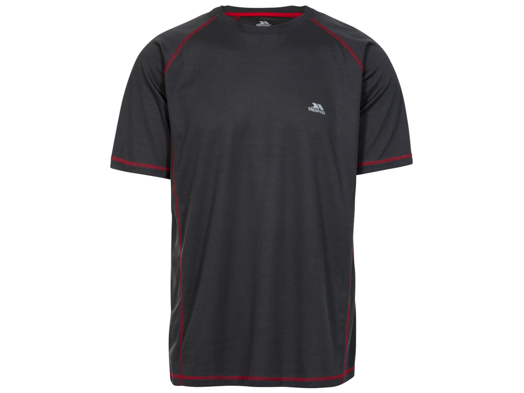 Image of   Trespass Albert - T-Shirt Quick Dry - Hr. Str. S - Carbon