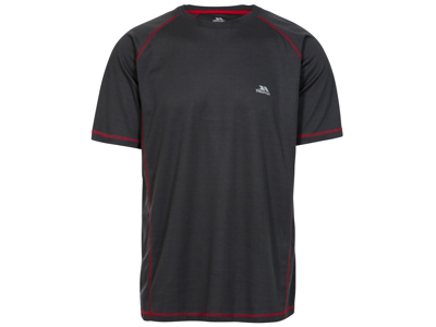 Trespass Albert - T-Shirt Quick Dry - Hr. - Carbon