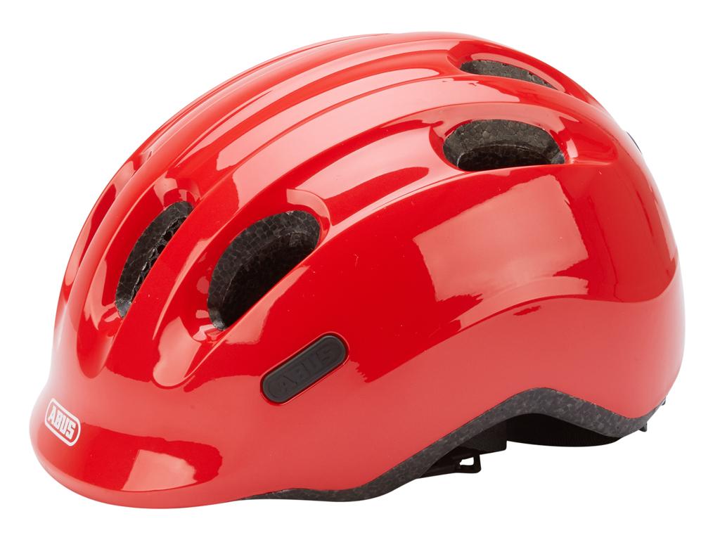 Abus Smiley 2.0 - Cykelhjelm - Rød