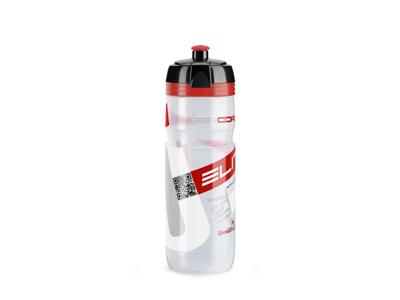 Elite Corsa - Drikkeflaske 750ml  - 100% Biologisk nedbrydelig - Klar/Rød
