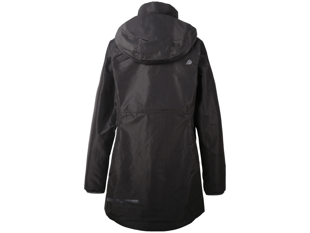Image of   Didriksons Noor Womens Parka - Damejakke - Sort - Str. 36