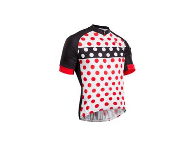 Sugoi Evolution Zap Jersey - Cykeltrøje med korte ærmer - Hvid/Rød